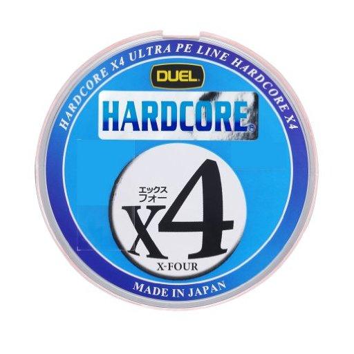 デュエル HARDCORE® X4 1.5号/25lb 6