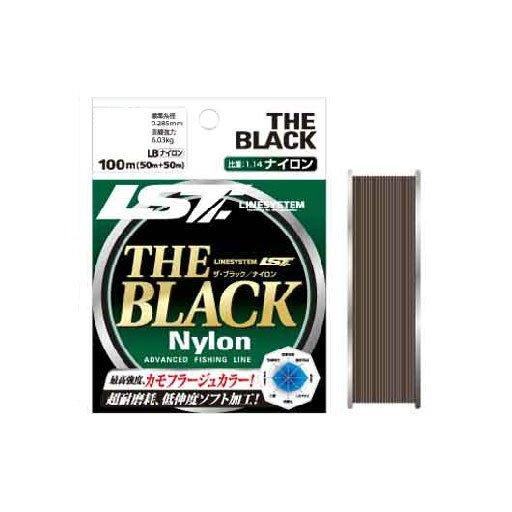 ラインシステム THE BLACK ナイロン 12lb