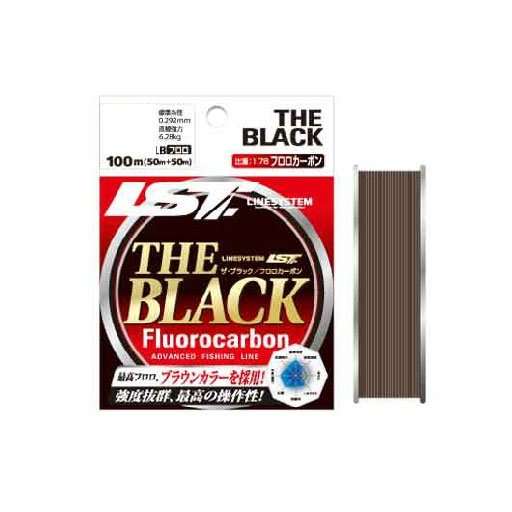 ラインシステム THE BLACK フロロカーボン 12lb