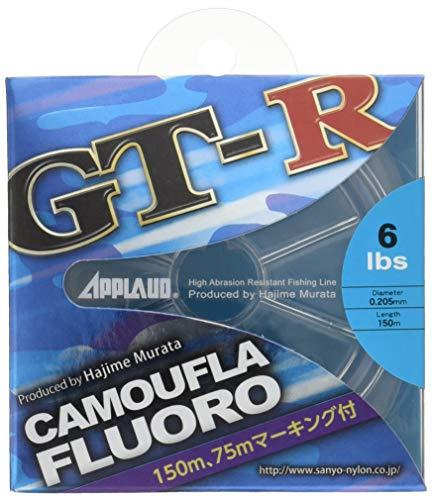 サンヨーナイロン APPLAUD GT-R CAMOUFLA FLUORO 6.0lb
