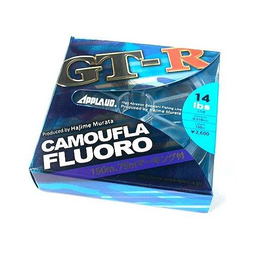 サンヨーナイロン APPLAUD GT-R CAMOUFLA FLUORO 8.0lb