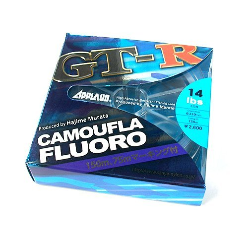 サンヨーナイロン APPLAUD GT-R CAMOUFLA FLUORO 10lb