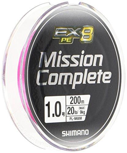 シマノ ミッションコンプリート EX8 PINK/1.0号/20lb