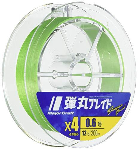 メジャークラフト 弾丸ブレイド8本編み GREEN/1.0号/20lb
