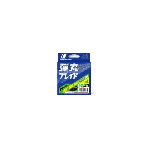 メジャークラフト 弾丸ブレイド4本編み PINK/0.3号/6.0lb