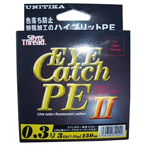 ユニチカ キャスライン エギングスーパーPE Ⅱ 0.5号/6.0lb