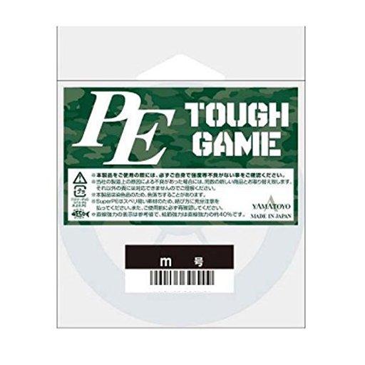 山豊テグス PEタフゲーム 6号/65lb