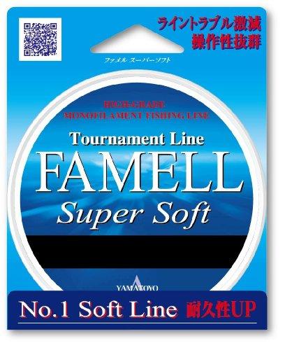 山豊テグス ファメル スーパーソフト 5号/20lb