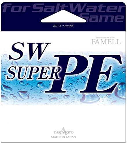 山豊テグス SWスーパーPE 0.6号/10lb