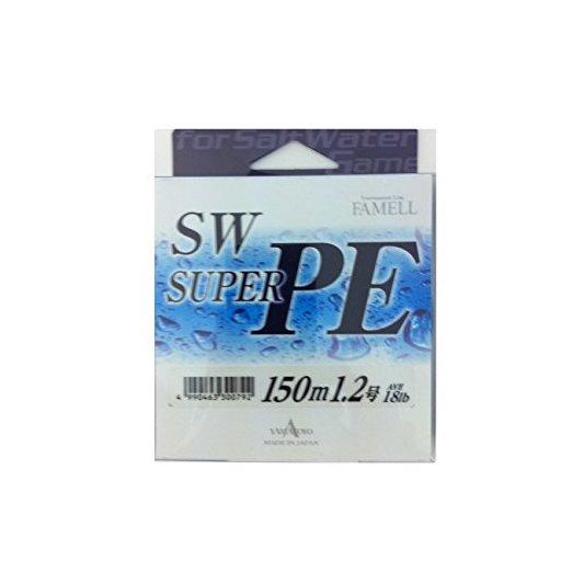 山豊テグス SWスーパーPE 1.2号/18lb