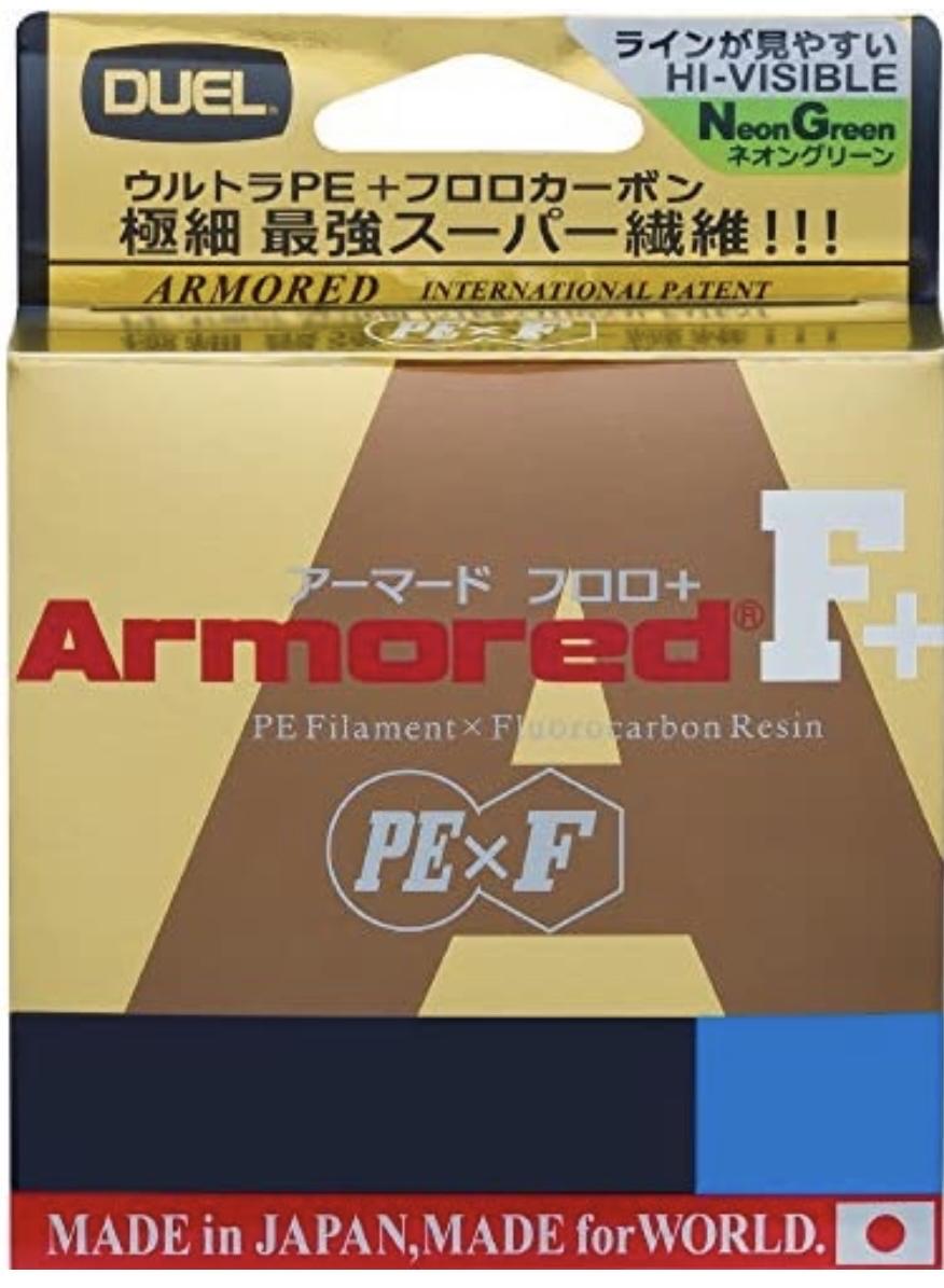 デュエル ARMORD® F+ 0.1号/4lb
