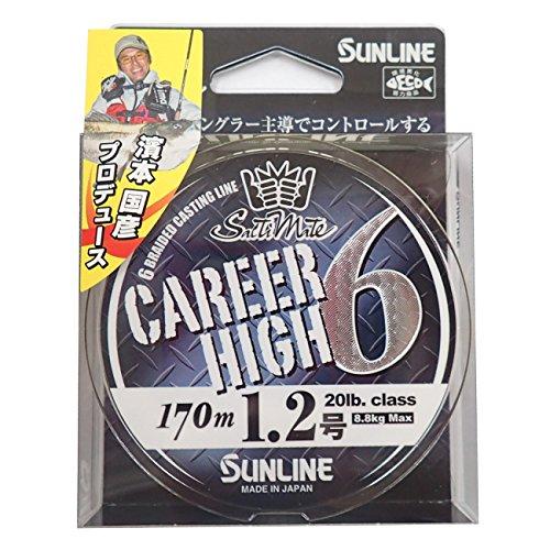 サンライン Career High ×6 20lb/1.2号