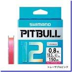 シマノ ピットブル 12 0.8号/18.3lb(トレーサブルピンク)