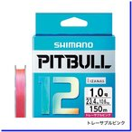 シマノ ピットブル 12 1.0号/23.4lb(トレーサブルピンク)