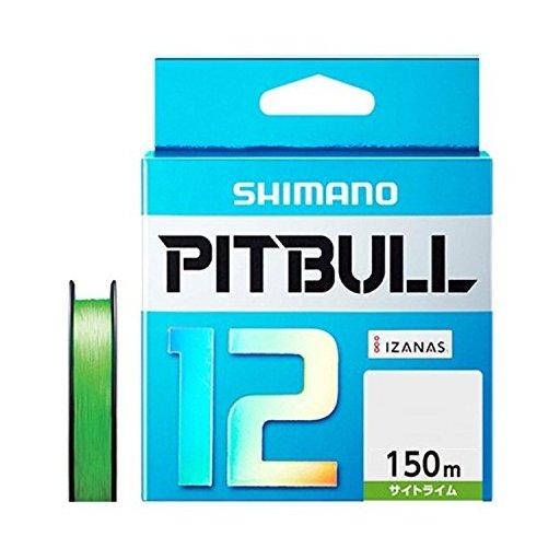 シマノ ピットブル 12 1.0号/23.4lb(サイトライム)