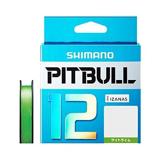 シマノ ピットブル 12 2.0号/43.7lb(サイトライム)