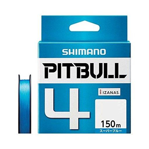 シマノ ピットブル 4 0.4号/8.6lb(スーパーブルー)