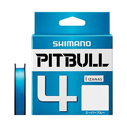 シマノ ピットブル 4 0.5号/10.3lb(スーパーブルー)
