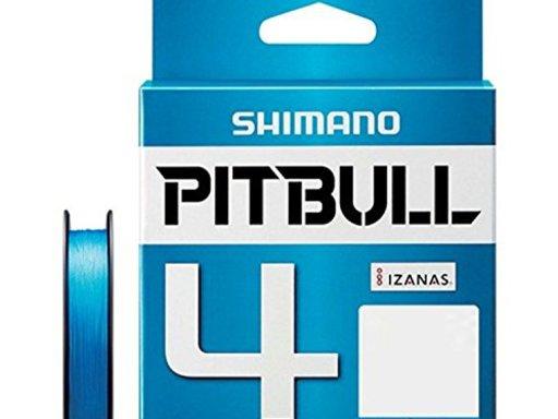 SHIMANO PITBULL 4 0.8号/17.8lb(スーパーブルー)