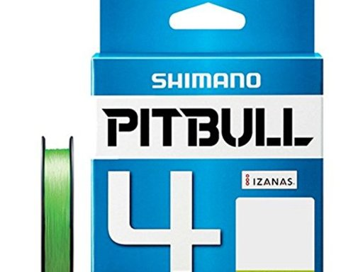 SHIMANO PITBULL 4 1.0号/20.0lb(ライムグリーン)