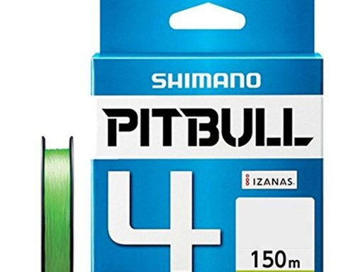 SHIMANO PITBULL 4 2.0号/38.7lb(ライムグリーン)