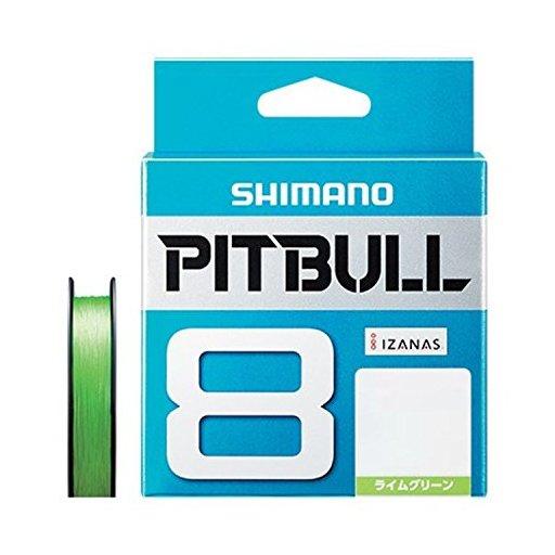 SHIMANO PITBULL 8 0.6号/14.5lb(ライムグリーン)