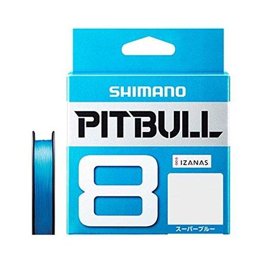 SHIMANO PITBULL 8 0.8号/18.3lb(スーパーブルー)