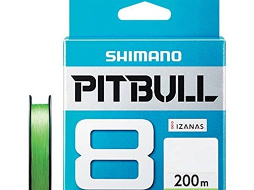 SHIMANO PITBULL 8 1.0号/22.4lb(ライムグリーン)