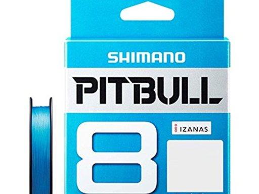 SHIMANO PITBULL 8 1.2号/27.0lb(スーパーブルー)