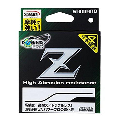 シマノ パワープロ Z 0.8号/18lb(ホワイト)
