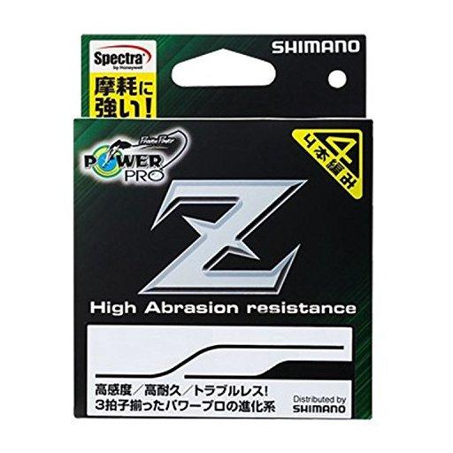 シマノ パワープロ Z 1.5号/29lb(モスグリーン)