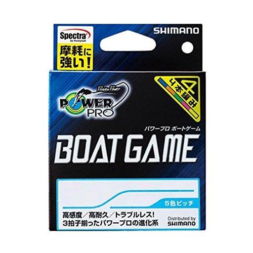 シマノ パワープロ ボートゲーム 1.0号/20lb
