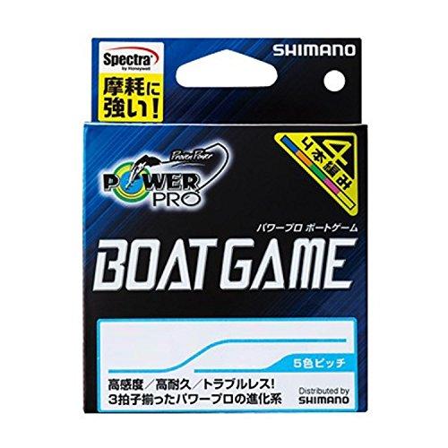 シマノ パワープロ ボートゲーム 2.0号/33lb