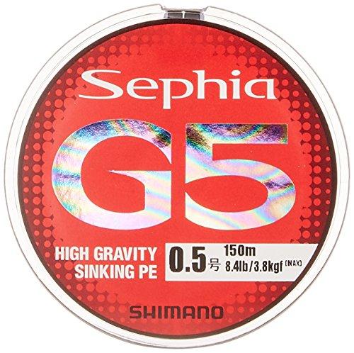 シマノ セフィア G5 PE 0.8号/13.7lb