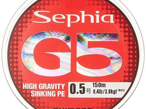 SHIMANO Sephia G5 PE 0.8号/13.7lb