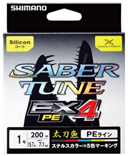 シマノ サーベルチューン EX4 PE 1.0号/19.4lb