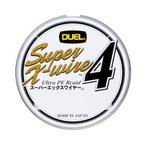 デュエル スーパーエックスワイヤー4 0.6号/12lb/5.4kg
