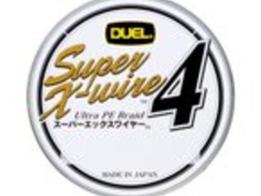 DUEL Super X-wire™4 1.0号/18lb/8.0kg