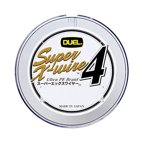 デュエル スーパーエックスワイヤー4 2.5号/35lb/16kg