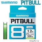シマノ PITBULL 8+ 0.5号/12.2lb(5カラー)