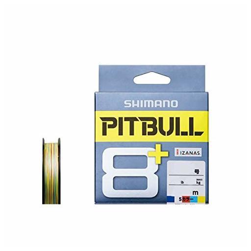 シマノ PITBULL 8+ 0.6号/14.8lb(5カラー)