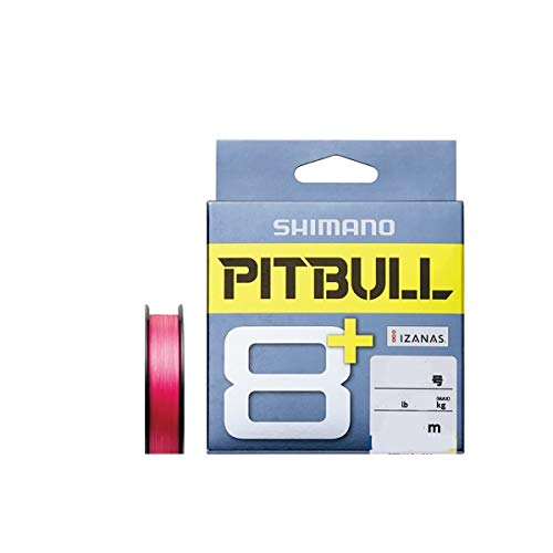 シマノ PITBULL 8+ 0.6号/14.8lb(トレーサブルピンク)