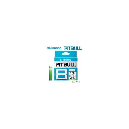 シマノ PITBULL 8+ 0.8号/18.5lb(5カラー)