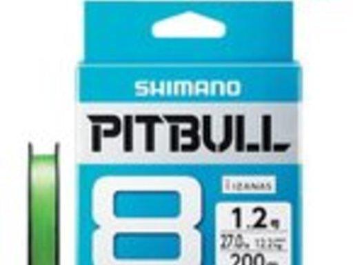 SHIMANO PITBULL 8+ 0.8号/18.5lb(トレーサブルピンク)