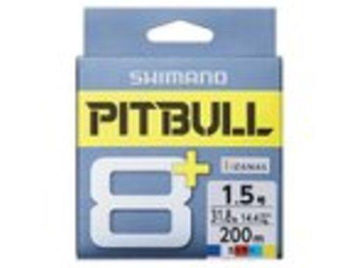 SHIMANO PITBULL 8+ 1.0号/23.1lb(5カラー)