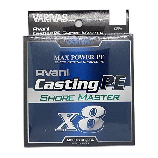 バリバス アバニ キャスティングPE マックスパワー X8 ショアマスター 1.0号/20.2lb