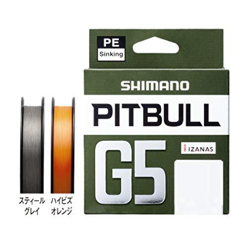 シマノ PITBULL G5 0.6号/10.6lb(4.8kg)/ハイビズオレンジ