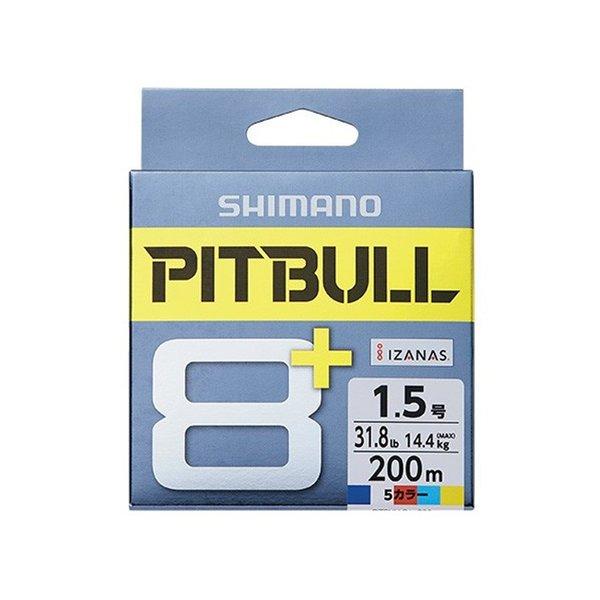 シマノ ピットブル8+ 1.0号/23.1lb(トレーサブルピンク)