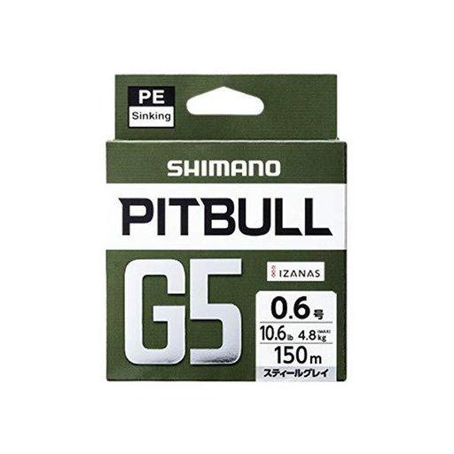 シマノ PITBULL G5 1.2号/ハイビズオレンジ