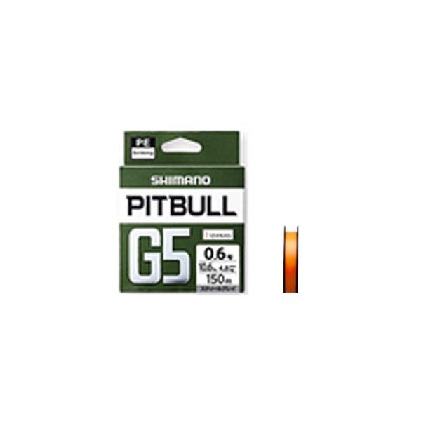 シマノ PITBULL G5 PITBULL G5/1.0号/7.6kg/16.7lb